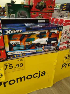 X-shot ultimate shootout pack Tesco opole
