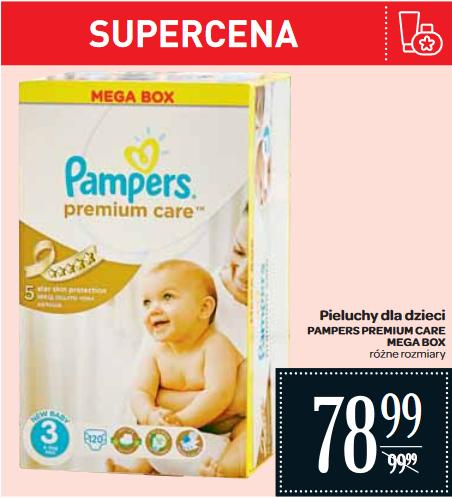 Pieluszki Pampers Premium Care Mega Box za 78,99zł @ Carrefour
