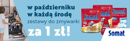 Zestawy Somat za 1 zł  -  NOWA akcja Allegro na październik