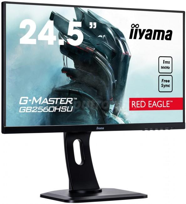 iiyama G-Master GB2560HSU Red Eagle [1ms, 144Hz, FreeSync] [oferta Outlet]