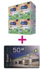 Zestaw: 4x Enfamil Premium mleko modyfikowane - KARTA PODARUNKOWA BP 50zł GRATIS