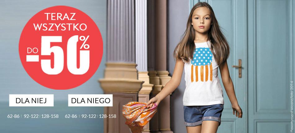 Modne ubranka dla dzieci do -50 % @ wójcikonline.com