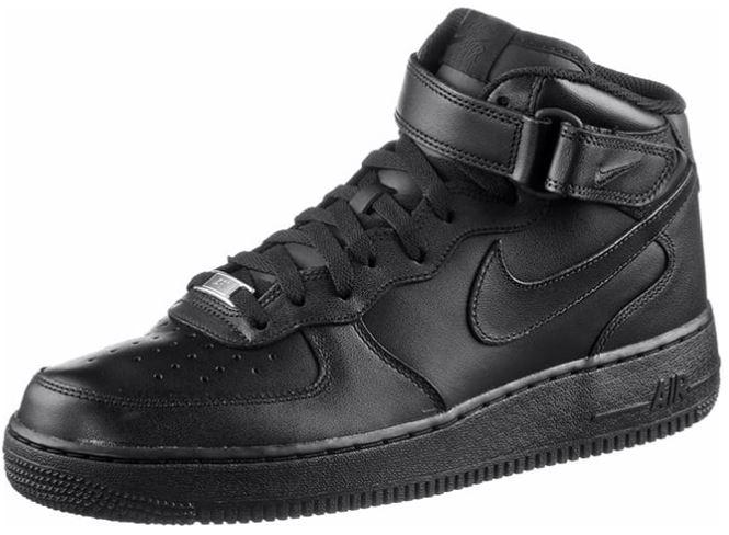 Męskie skórzane sneakersy Nike Air Force 1 Mid