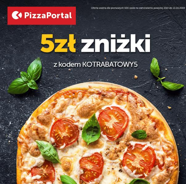 Pizza portal 5zł zniżka