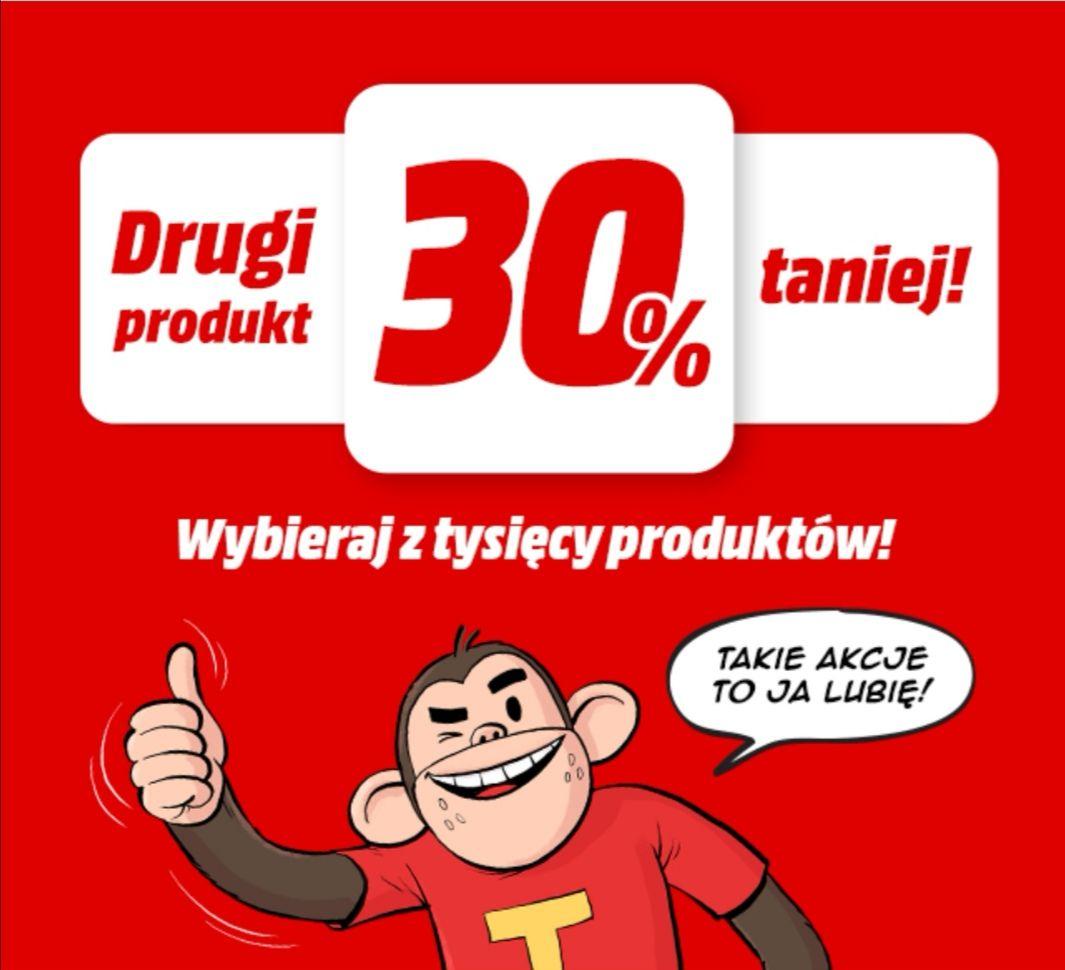 Media Markt drugi produkt 30% taniej