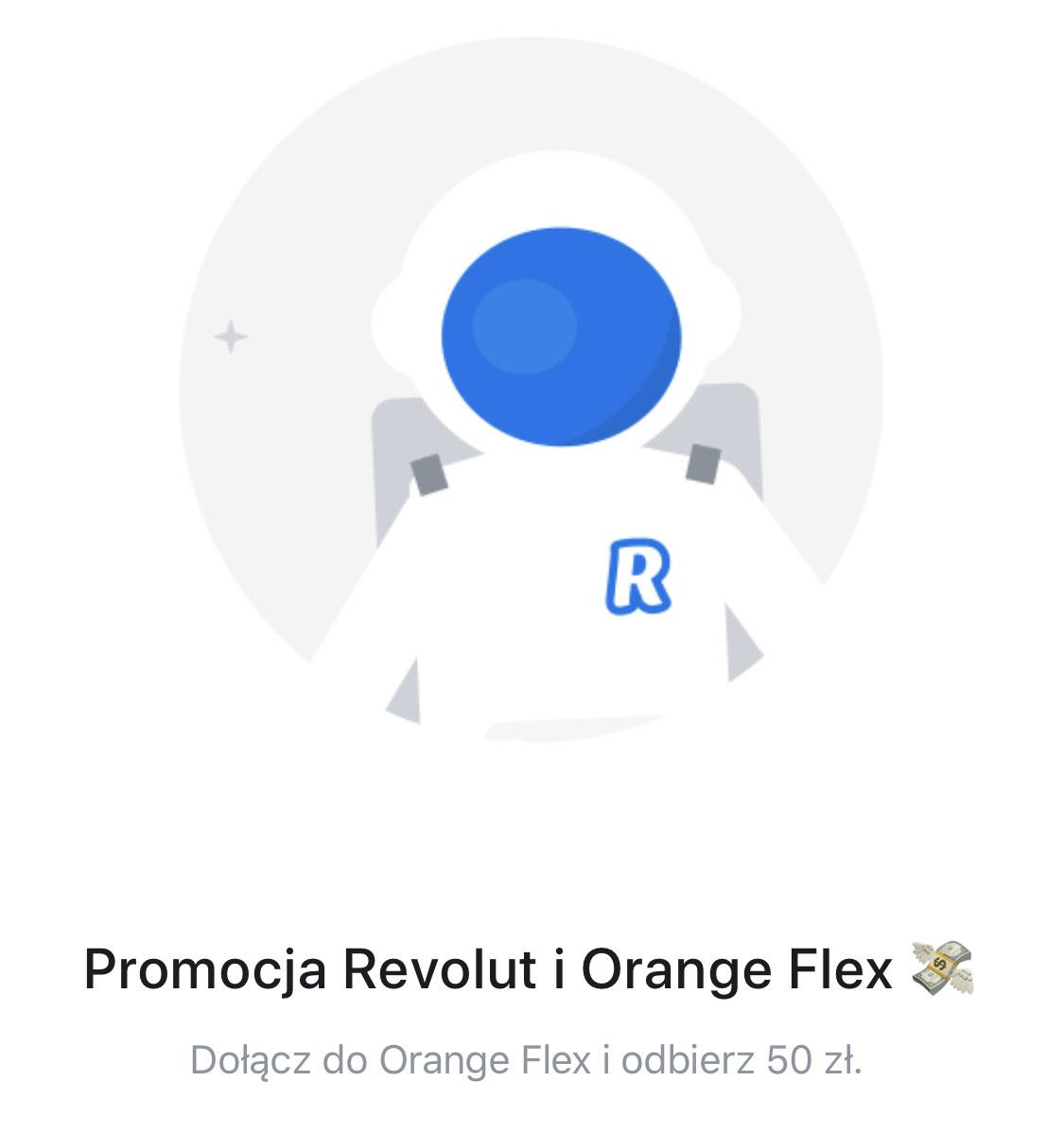 Promocja Revolut i Orange Flex