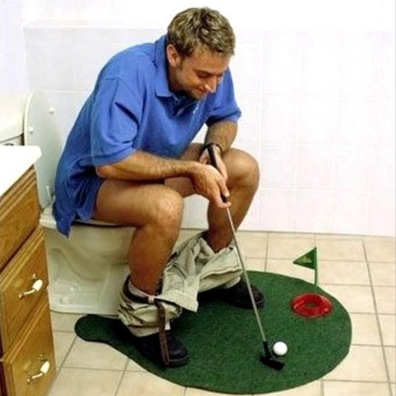 """Mini pole golfowe do grania """"na tronie"""""""