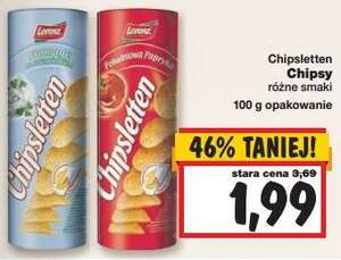czipsy Chipsletten @ Kaufland