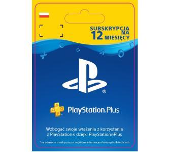 Playstation Plus / Subskrypcja na 12 miesięcy