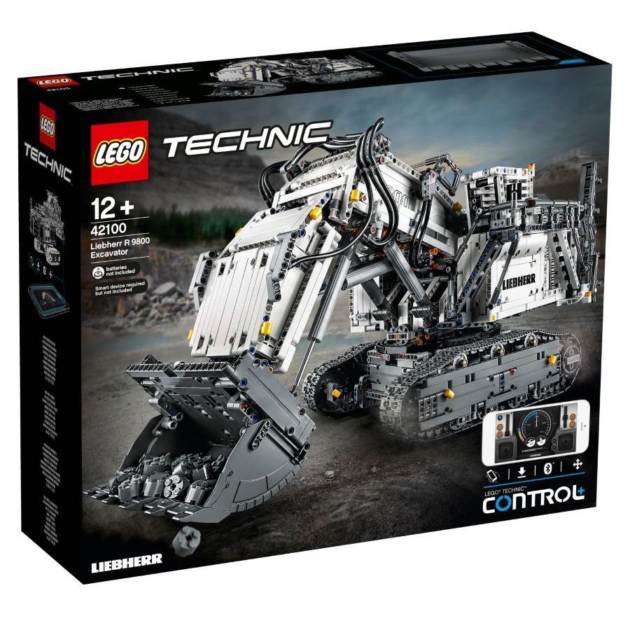 LEGO Technic - Koparka Liebherr R 9800 42100