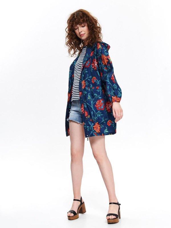 Oversizowa kurtka w kwiaty za 79,99zł (rozm.34-46) @ Top Secret
