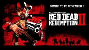 (PRELOAD!) Red Dead Redemption 2 [PC/R* Launcher] Preorder + 2 gry do wyboru (RU lub UA [taniej] VPN)