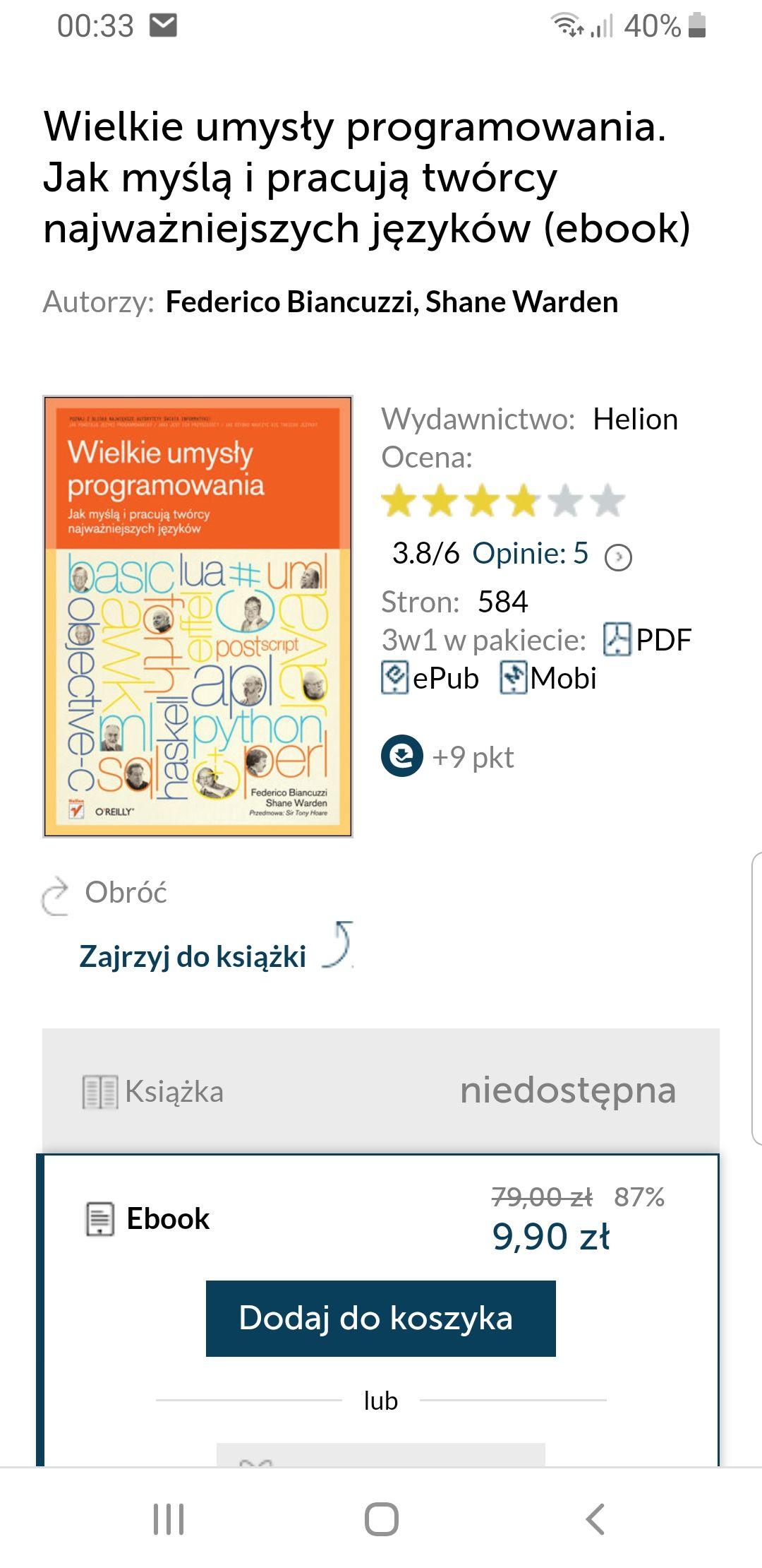 Wielkie umysły programowania. Jak myślą i pracują twórcy najważniejszych języków(ebook)