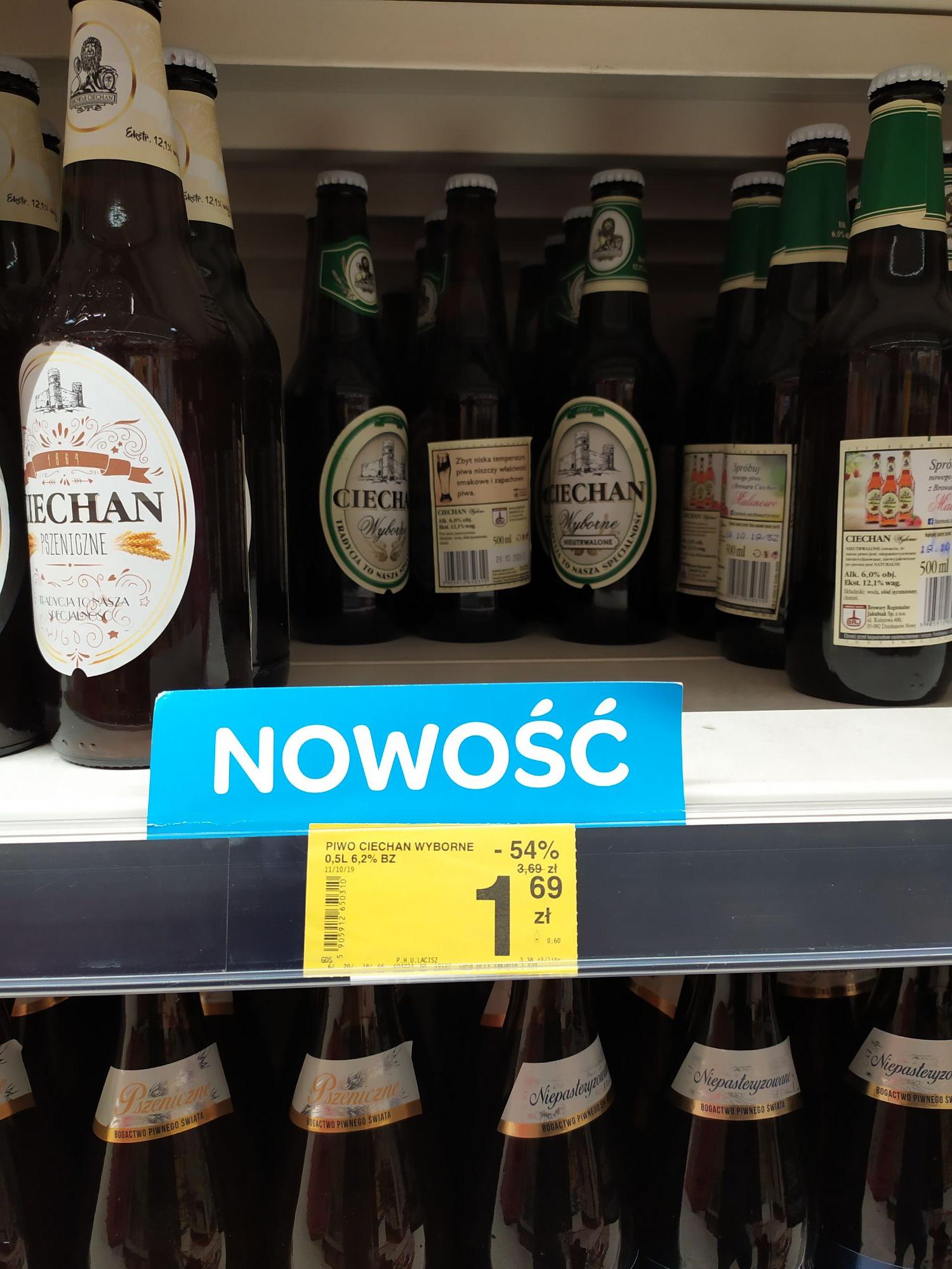 Promocja piwo Ciechan wyborne