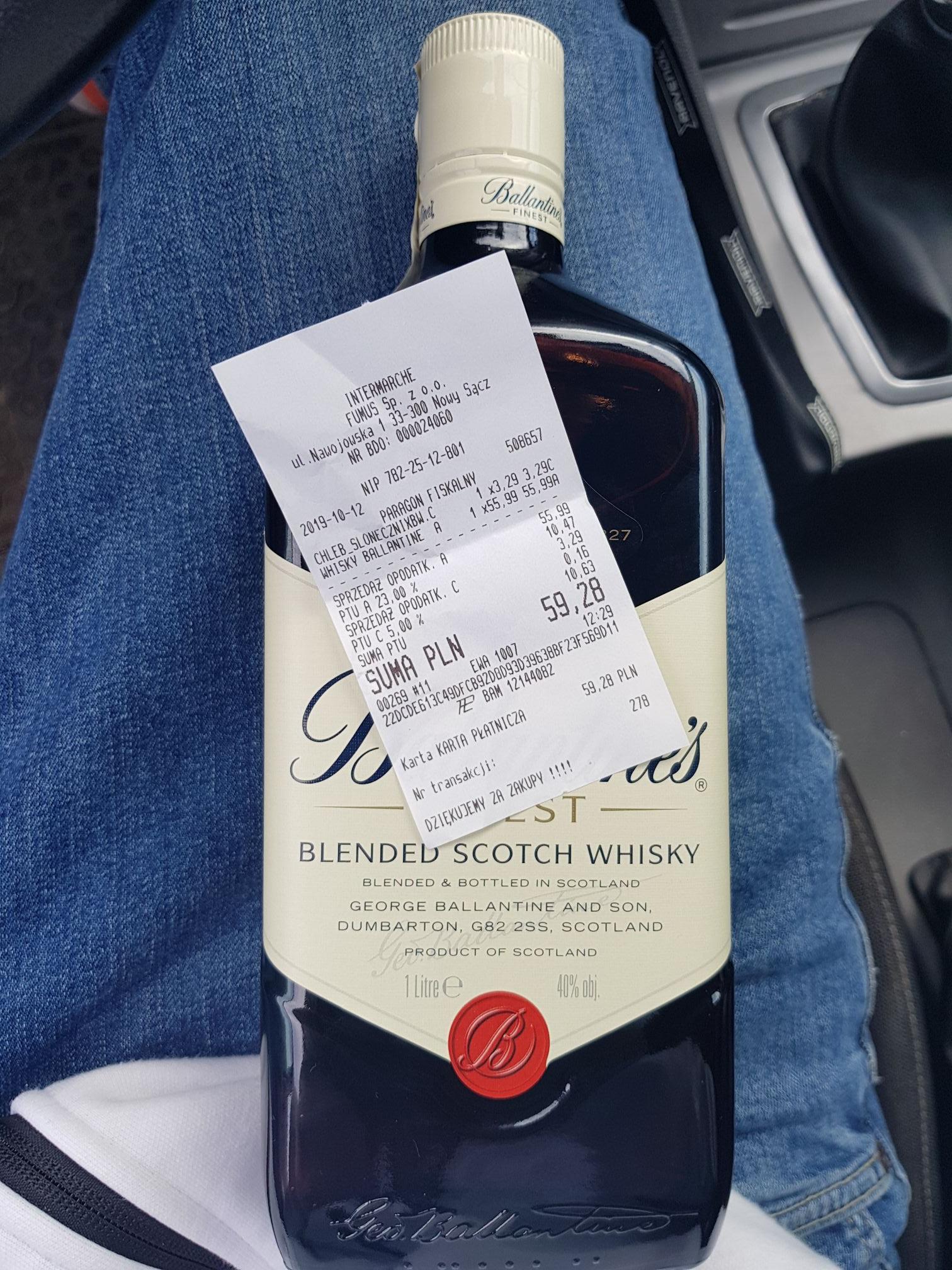 Ballantine'S Finest Whisky 1L w Intermarche
