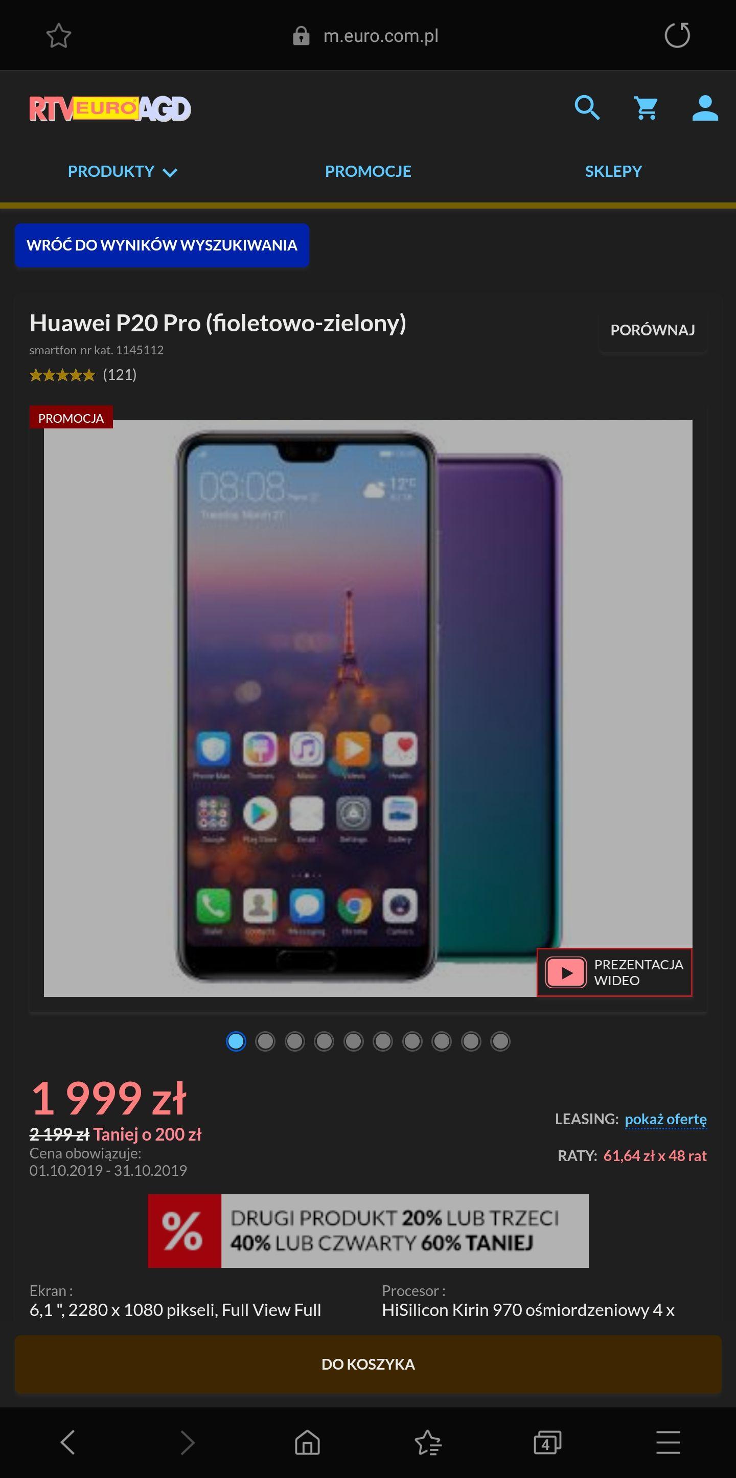 Huawei P20 Pro Twilight 6/128