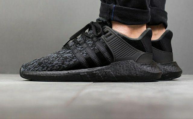 Adidas EQT 93/17 Triple Black ROZMIAR 38.7