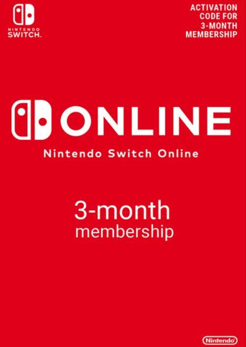 Trzy miesiące (90 dni) Nintendo Switch Online za 18,69 PLN @cdkeys