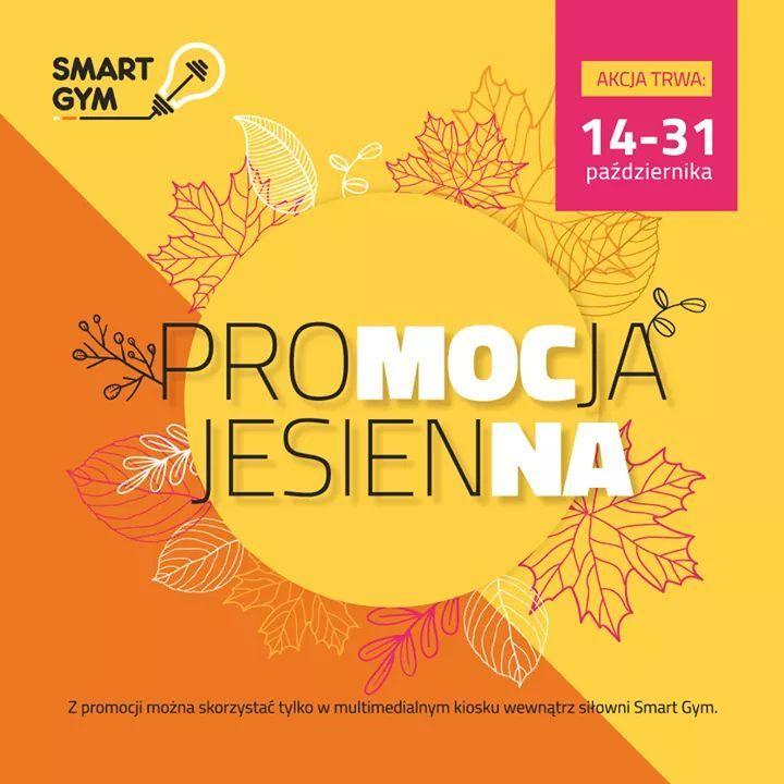 Jesienna promocja w Smart Gym - sieć siłowni - Śląsk