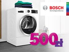 BOSCH/SIEMENS - Odbierz premię do 500 zł za zakup suszarki do ubrań marki Bosch