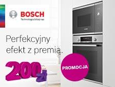 Bosch/Siemens - Kup piekarnik objęty promocją i odbierz 200 zł.