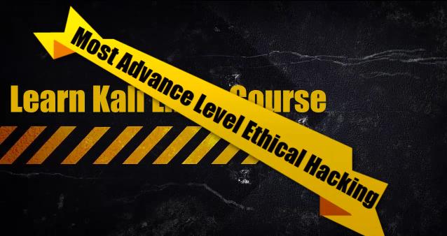 [Udemy] Etyczny Kurs Hackingu z użyciem Kali Linux
