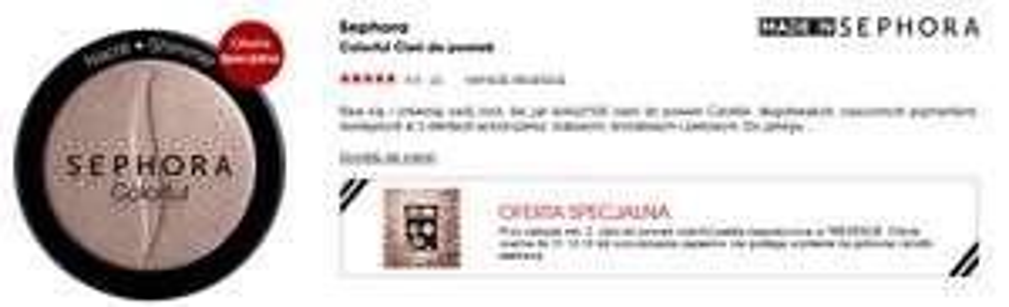 Przy zakupie dwóch cieni, paleta magnetyczna GRATIS @ Sephora