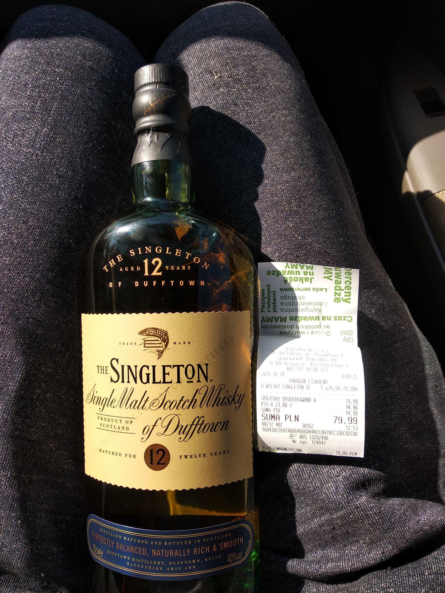 The Singleton single malt scotch whisky 12 years 0,7l @Stokrotka