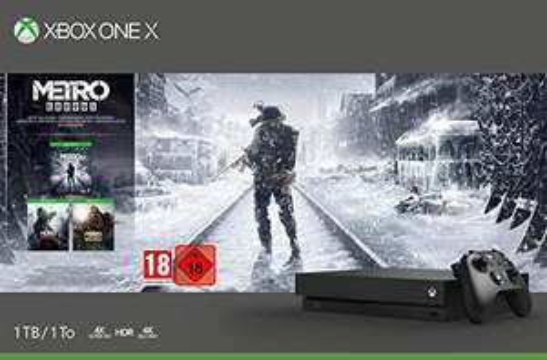 konsola Microsoft Xbox One X  Metro Exodus Bundle @ Amazon