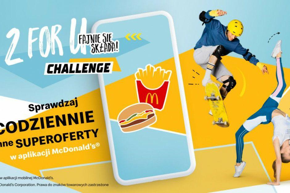 """McDonalds Kupony """"2forYou"""" Challenge (cała rozpiska )"""