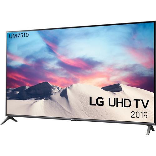 "Telewizor LG 65""  65UM7510PLA, 4K Smart, Active HDR, AI TV, 50Hz native, 100Hz interpol. IPS, procesor 4-rdzeniowy, Direct LED"