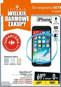 Carrefour: Apple Iphone 6 16GB