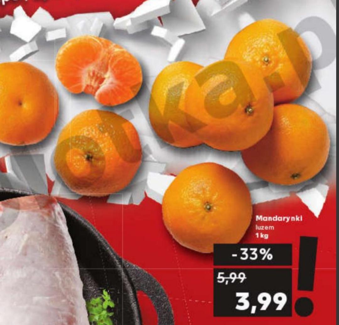 Mandarynki luzem,cena za 1 kg;Lay's Maxx,Z Pieca wybrane rodzaje 200/210 g opakowanie za 3,99@Kaufland sobota 19.10