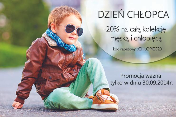 - 20% na buty z okazji Dnia Chłopaka @ Kari