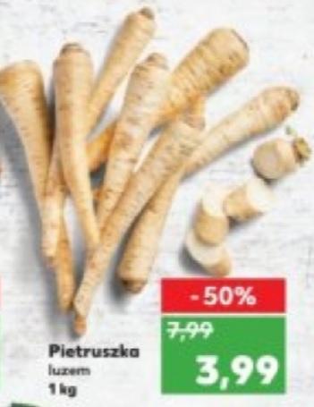 Pietruszka w Kauflandzie po 3,99zł/kg