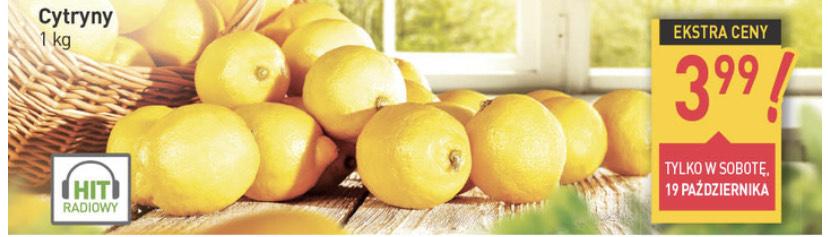 Cytryny 3,99zł w sobotę 19 paź (promocja na masło mlekovita w opisie) - Stokrotka