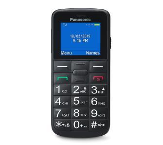 Telefon komórkowy klasyczny Panasonic KX-TU110EXB, czarny i niebieski odbiór sklep 0 zł