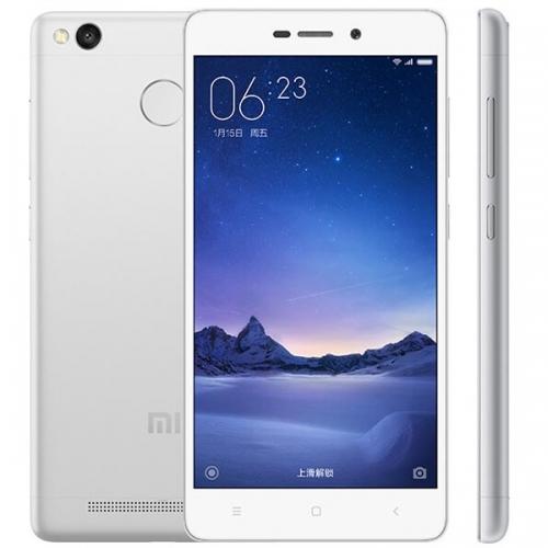 Xiaomi Redmi 3 Pro Smartphone 5.0 inch HD Screen Snapdragon 616 Octa Core 3GB 32GB Silver, @maxsources