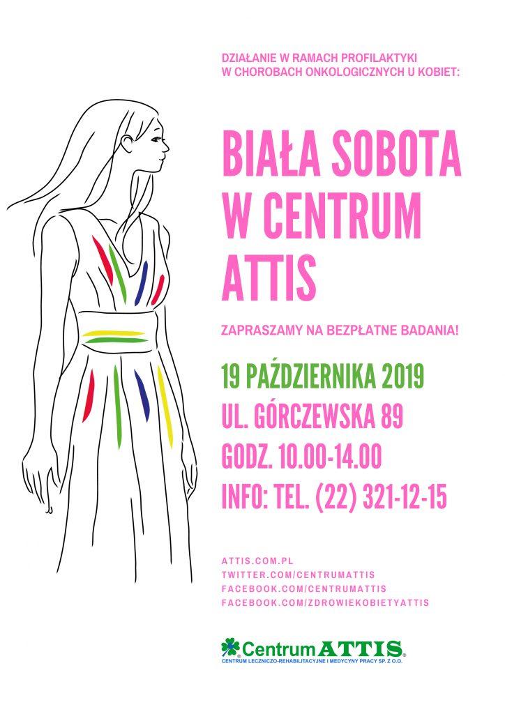 Biała Sobota w Centrum ATTIS. Bezpłatne badania dla kobiet.