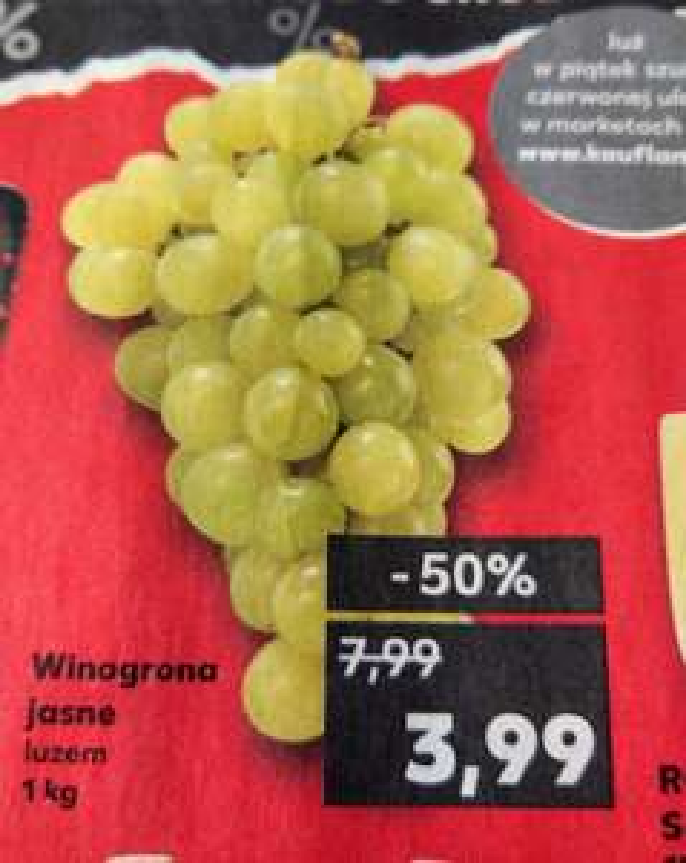 Winogrono jasne 1kg - Kaufland