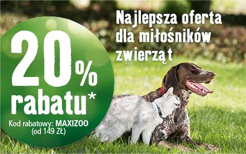 Maxizoo 20% na wszystko od 149zł