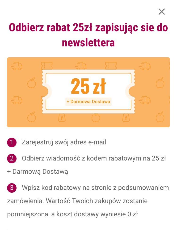 Frisco -25zl newsletter + darmowa dostawa MWZ 150zł