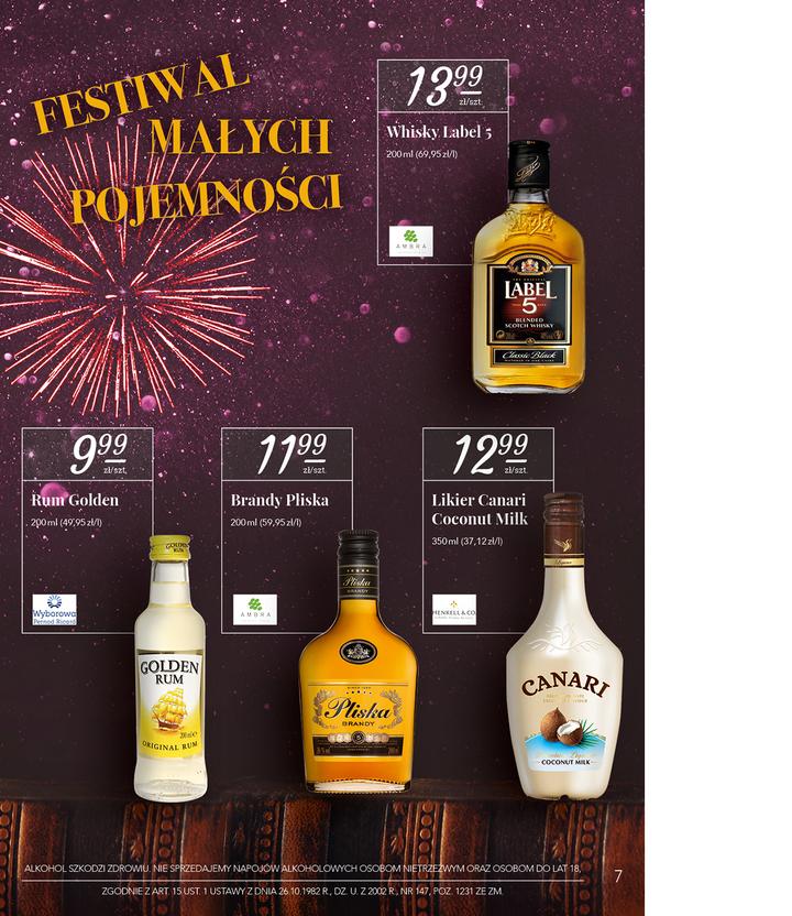 Stokrotka Golden Rum 0.2l