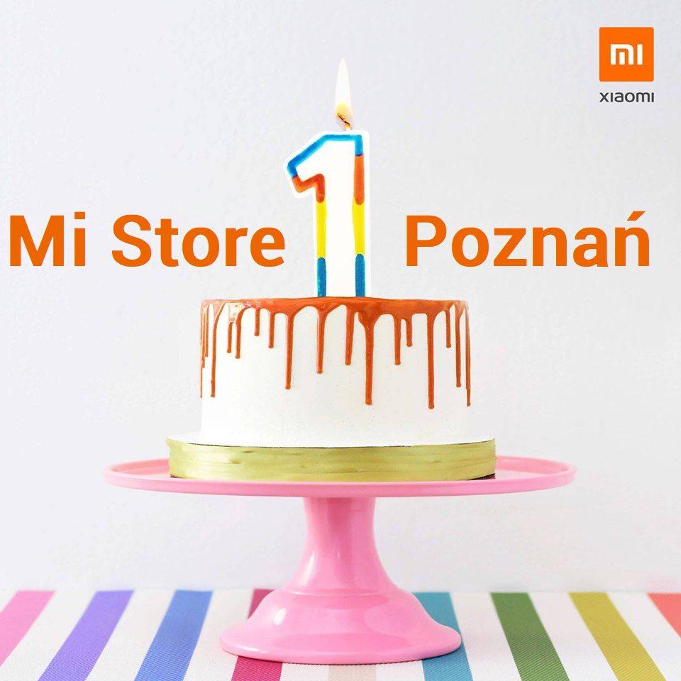 Pierwsze Urodziny salonu Mi Store Poznań 19.10.2019!