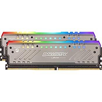 Crucial Ballistix Tactical 16GB (2x8) 2666MHz CL16 RGB Ram DDR4 Pamięć amazon.co.uk