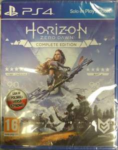 HORIZON ZERO DAWN COMPLETE EDITION / NOWA / POLSKA PS4
