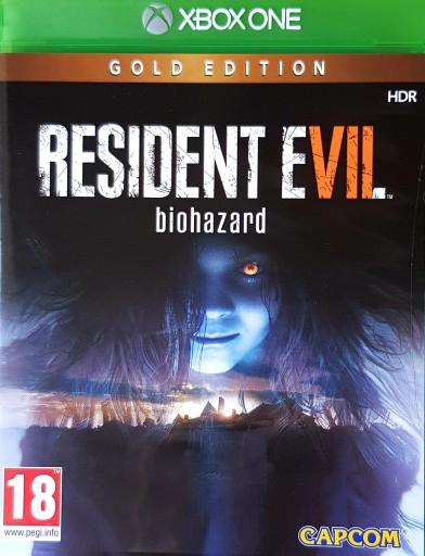 RESIDENT EVIL 7 VII BIOHAZARD GOLD EDITION Xbox One