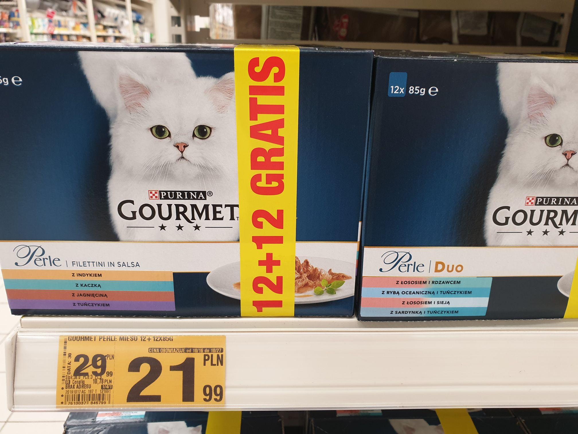 Jedzenie dla kota Whiskas / Gourmet AUCHAN
