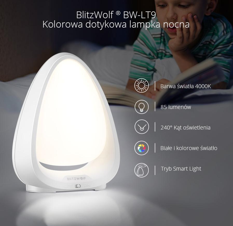 Lampka nocna BlitzWolf BW-LT9