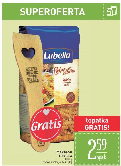 Makaron Lubella za 2,59zł + łopatka GRATIS @ Carrefour
